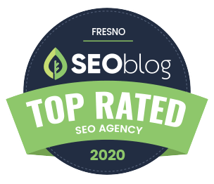 SEOblog Top Rated Fresno Agency Badge